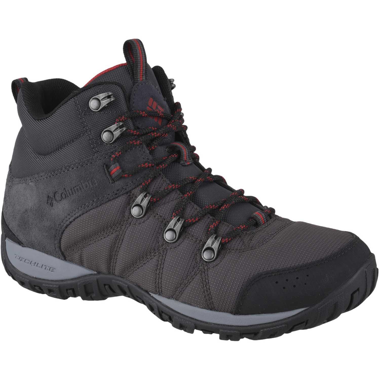 Columbia peakfreak ventur mid Gris / negro Calzado hiking