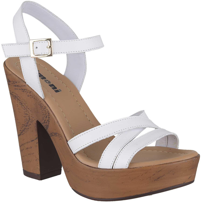 Casual de Mujer Limoni - Cuero Blanco sp leia 03