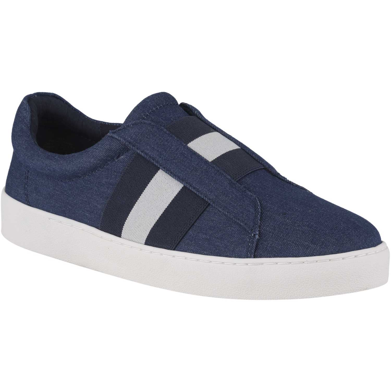 Nine West Pinhorno Azul / blanco Zapatillas de moda