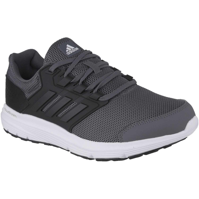 Adidas galaxy 4 m Gris / negro Trail Running   platanitos.com