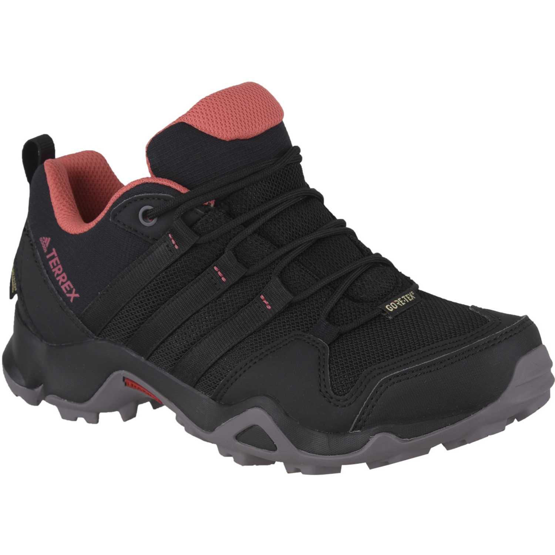 Adidas terrex ax2r gtx w Negro / rosado Trail Running ...