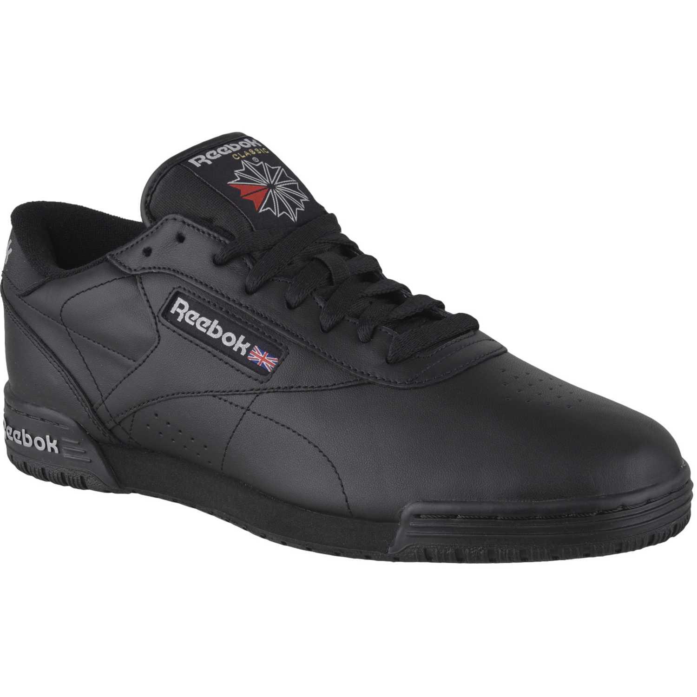 Reebok Exofit Lo Clean Logo Int Negro / negro Para caminar