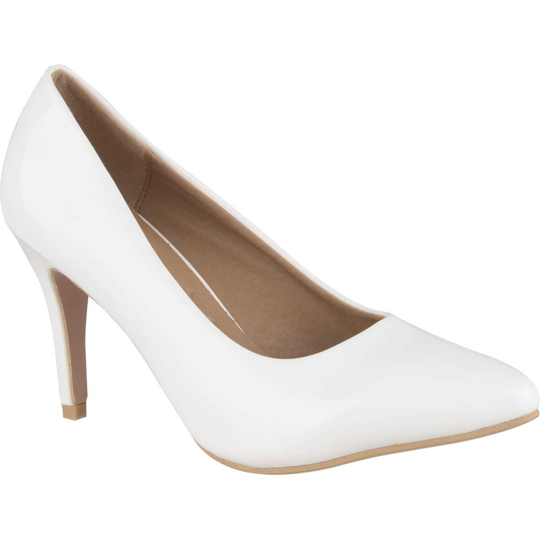 Casual de Mujer Platanitos Blanco c-657a
