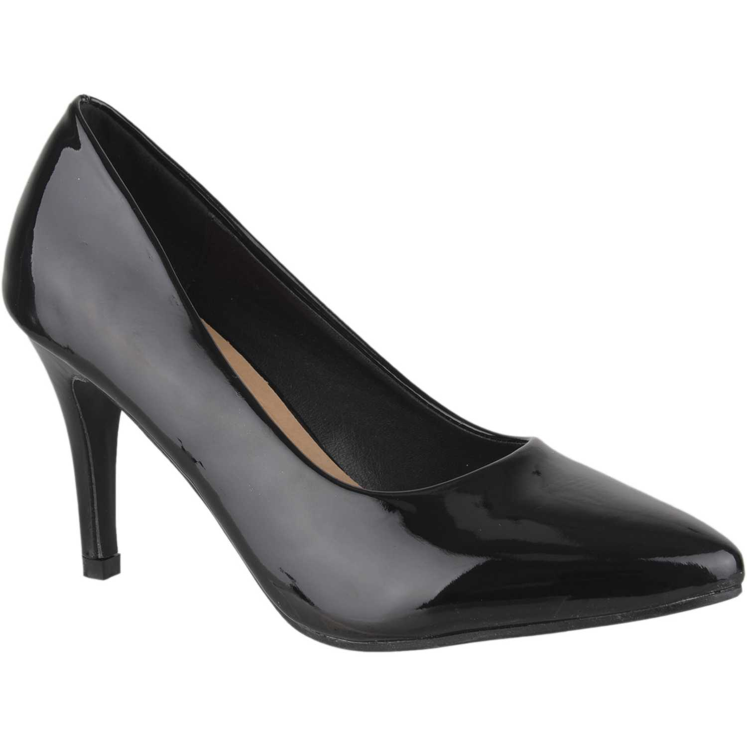 Platanitos c-657a Negro Estiletos y Pumps