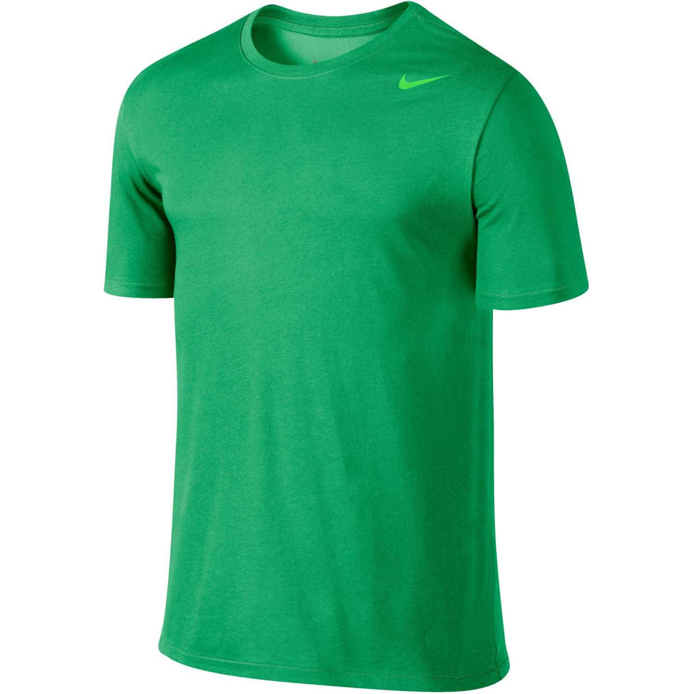 Nike df ss version 2.0 tee Verde Camisetas y Polos Deportivos