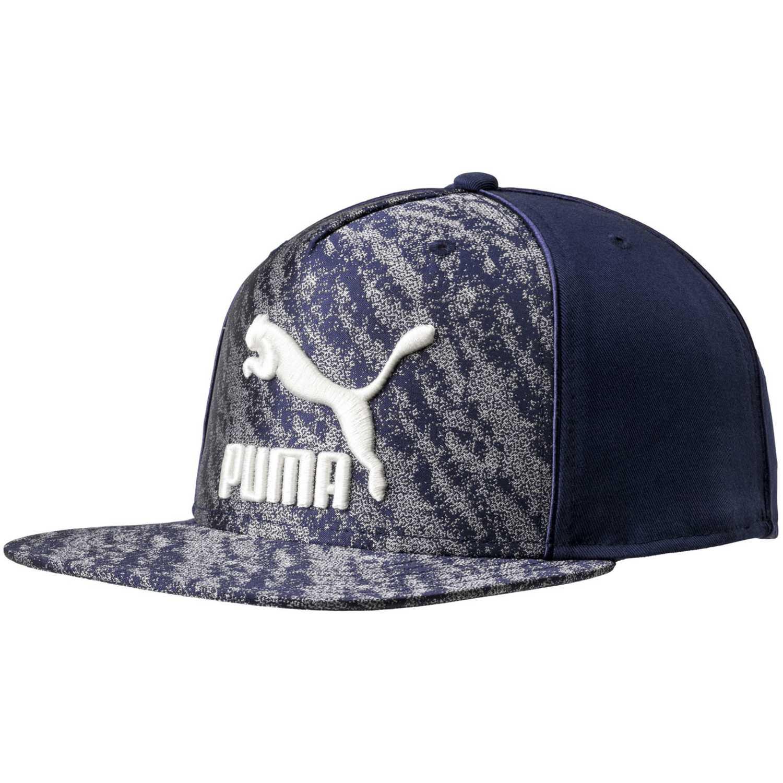 Puma archive deluxe flatbrim Azul / blanco Gorros de Baseball