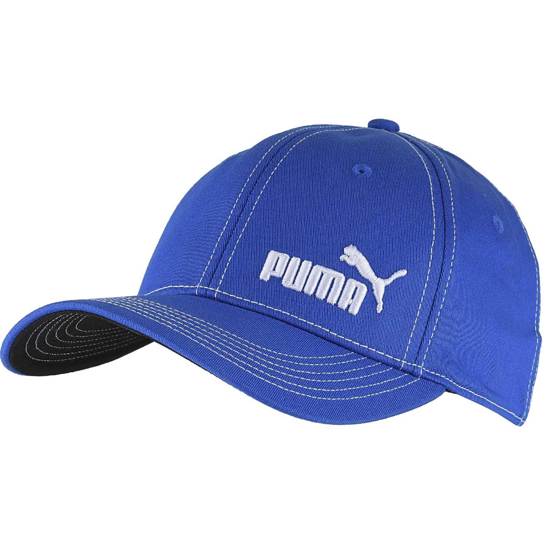 Puma baseball stretchfit cap Azul / blanco Gorros de Baseball