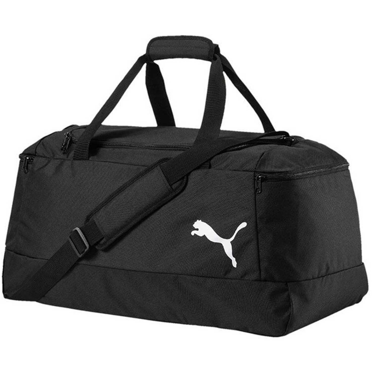 Puma PRO TRAINING II MEDIUM BAG Negro / blanco Bolsos de gimnasio