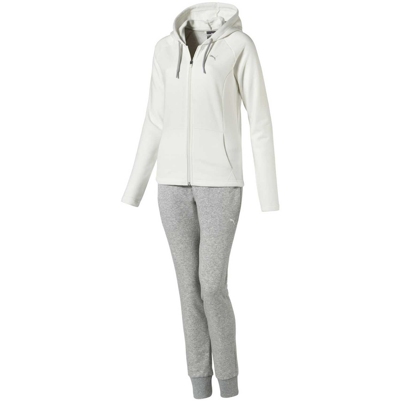 885a93cf5772 Deportivo de Mujer Puma Gris / Blanco classic sweat suit cl ...
