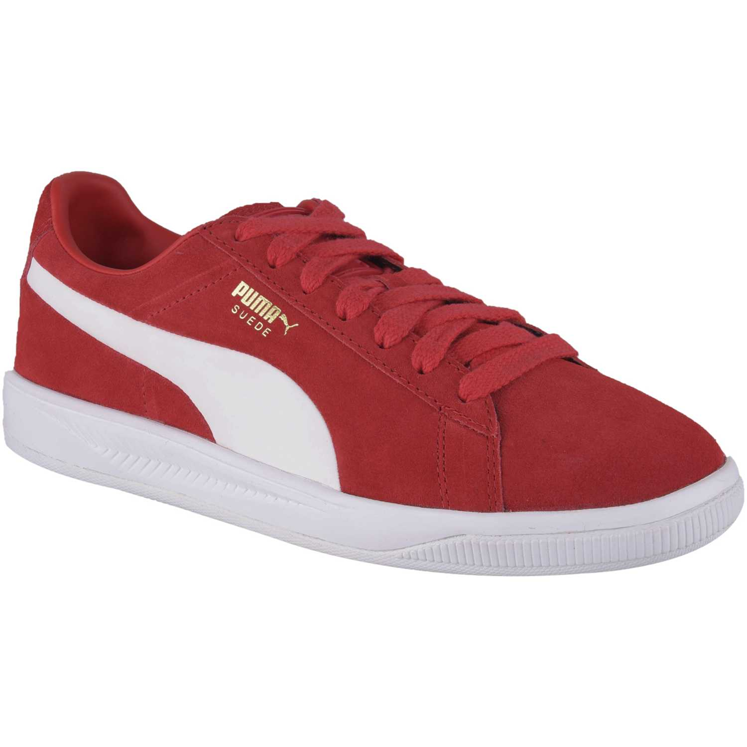 Puma suede ignite Rojo / blanco Walking | platanitos.com