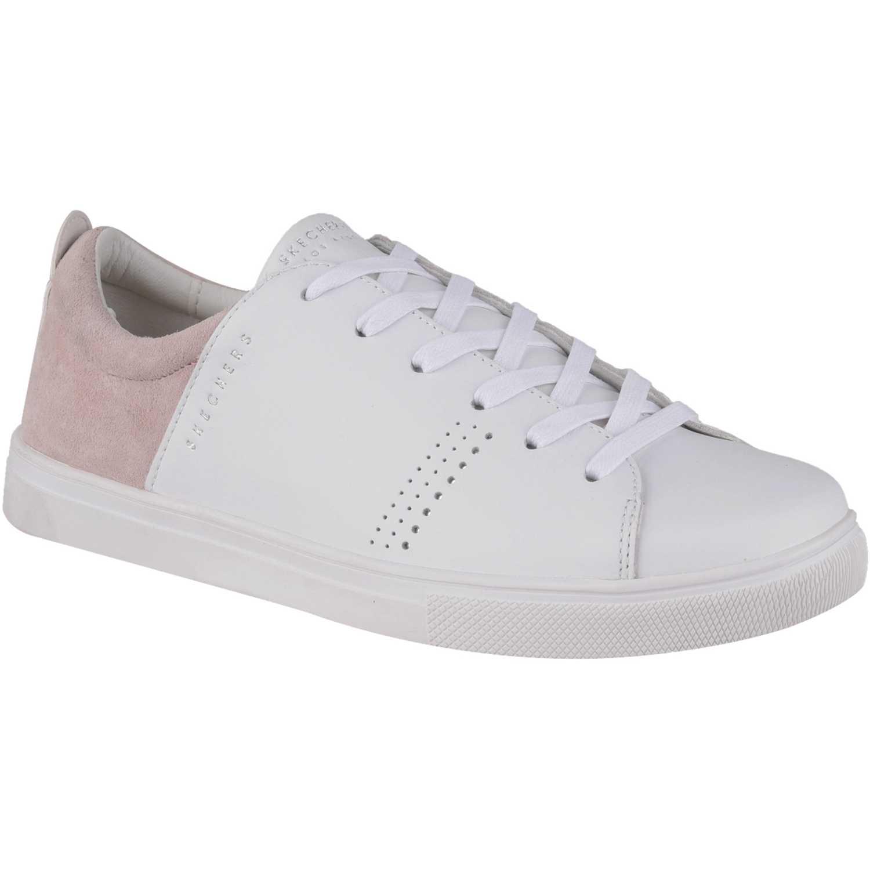 Skechers 73480 Blanco / rosado Walking