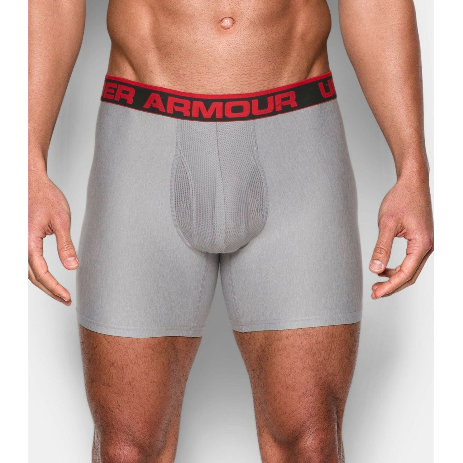 Under Armour the original 6 boxerjock (1 unidad) Gris / rojo Boxers