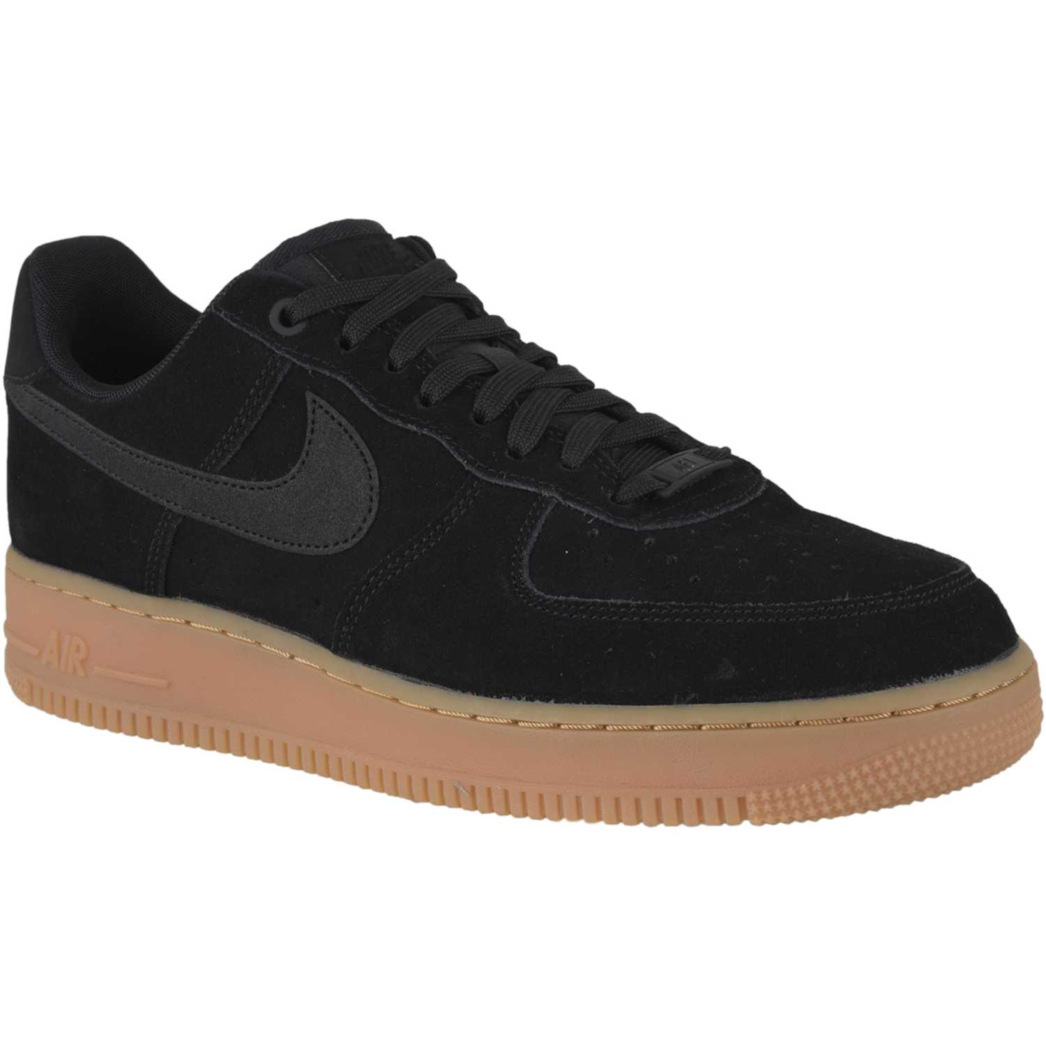 nike air force 1 negras y marron