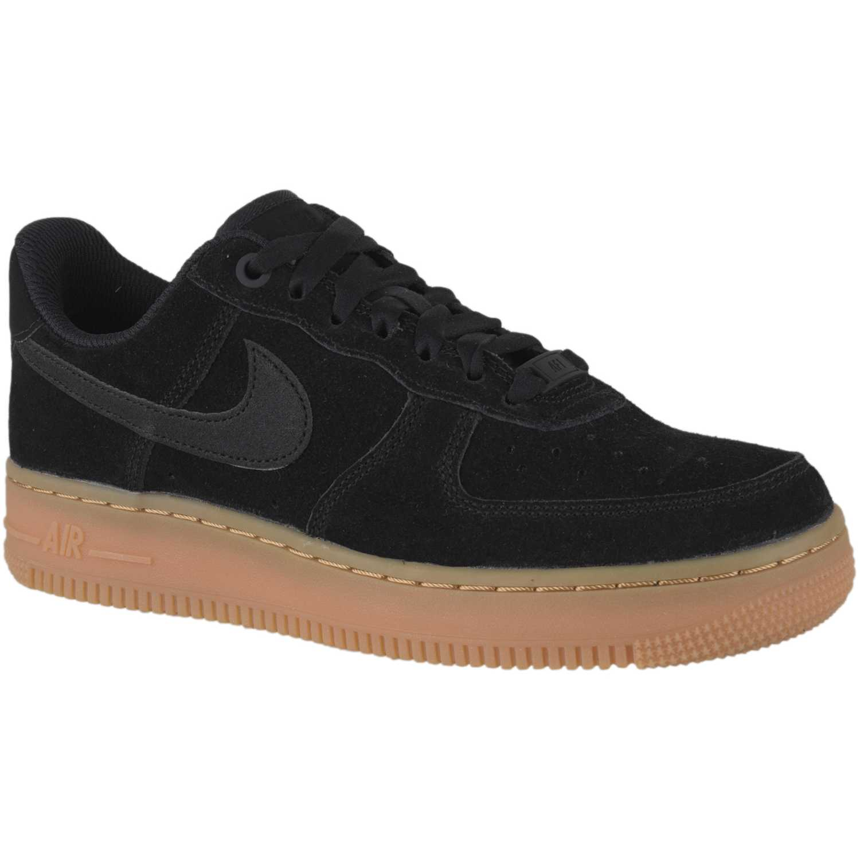 Nueva colección Nike Air Force 1 '07 LV8 Cuero Negras