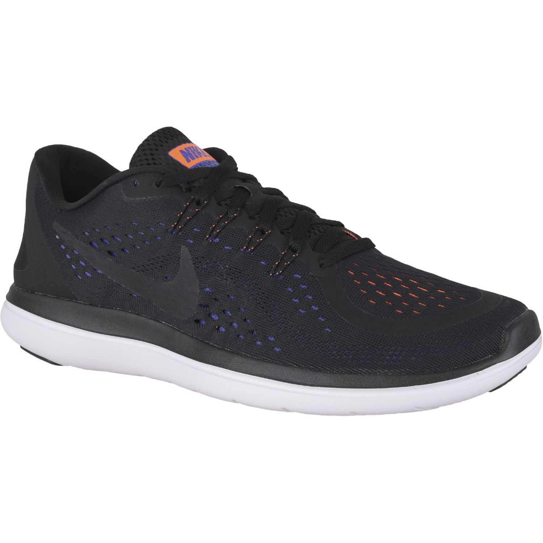 Nike FLEX 2017 RN Negro / negro Running en pista