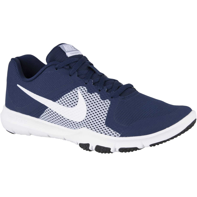 Nike flex control Azul / blanco Hombres
