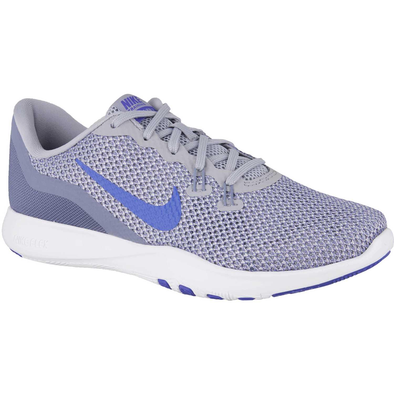 Nike w flex trainer 7 Gris / morado Mujeres