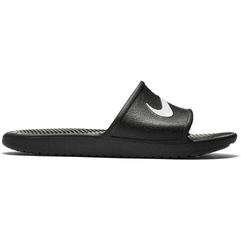 Nike Kawa Shower Negro / blanco Sandalias y slides deportivas