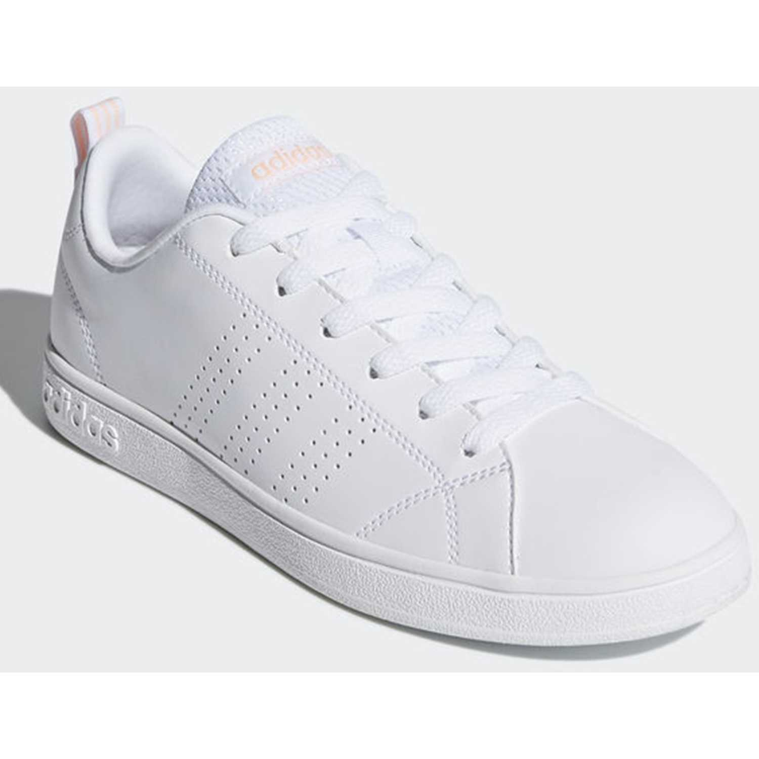 adidas NEO vs advantage cl Blanco rosado Walking