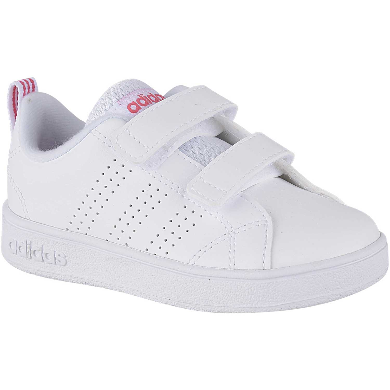adidas NEO vs adv cl cmf inf Blanco / fucsia Walking