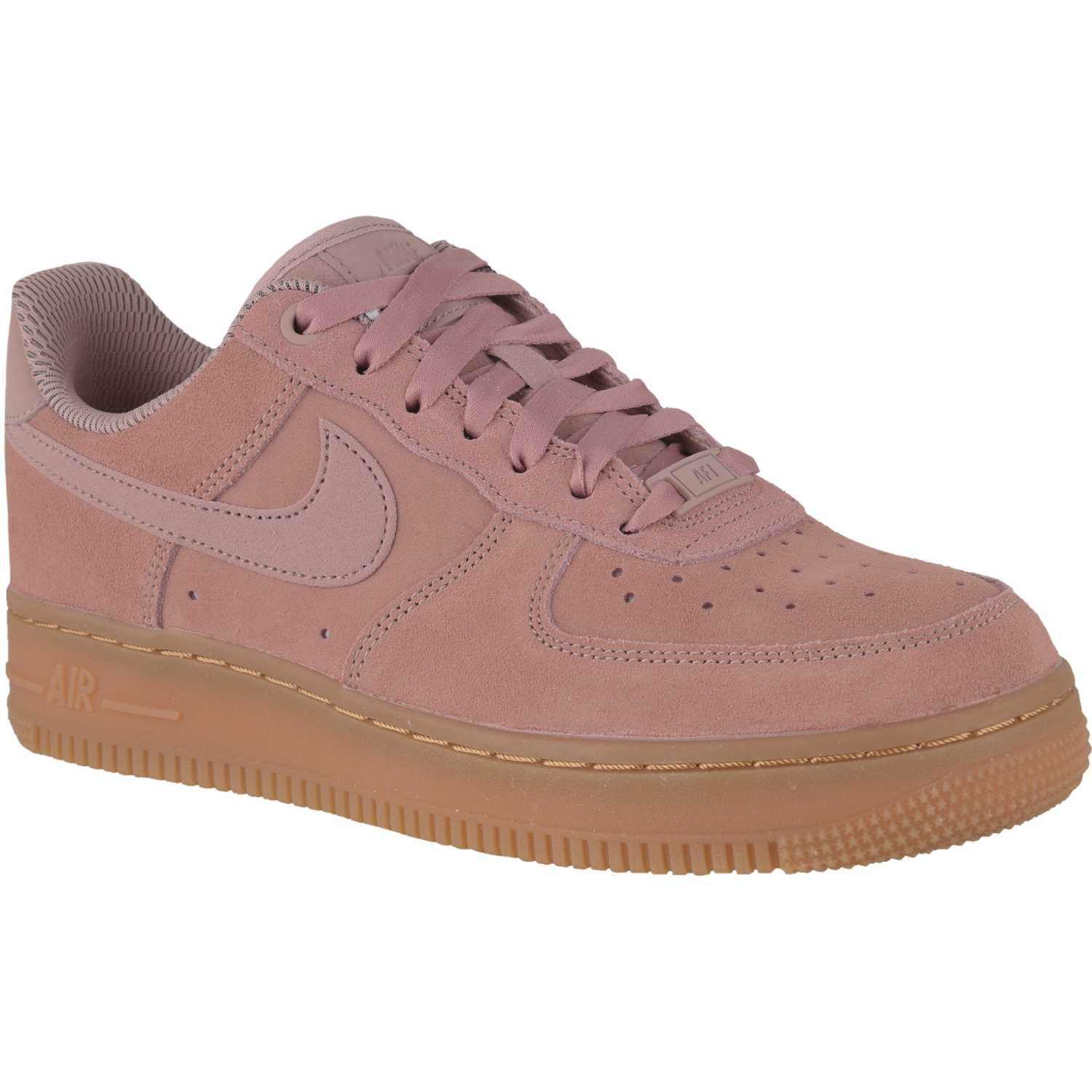 Nike wmns air force 1 07 se Rosado / marrón Walking