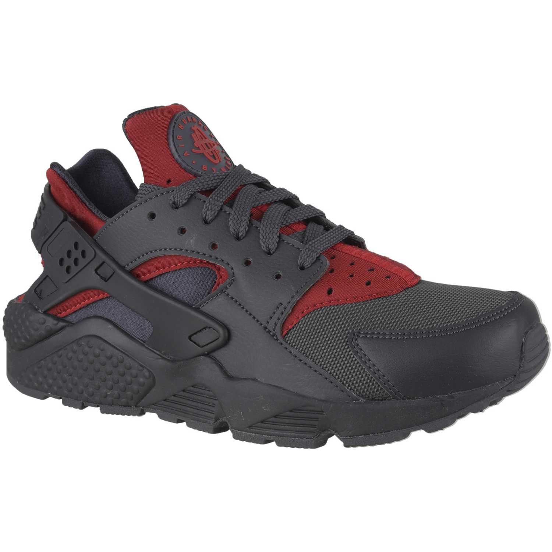 Nike air huarache run Plomo / rojo Walking