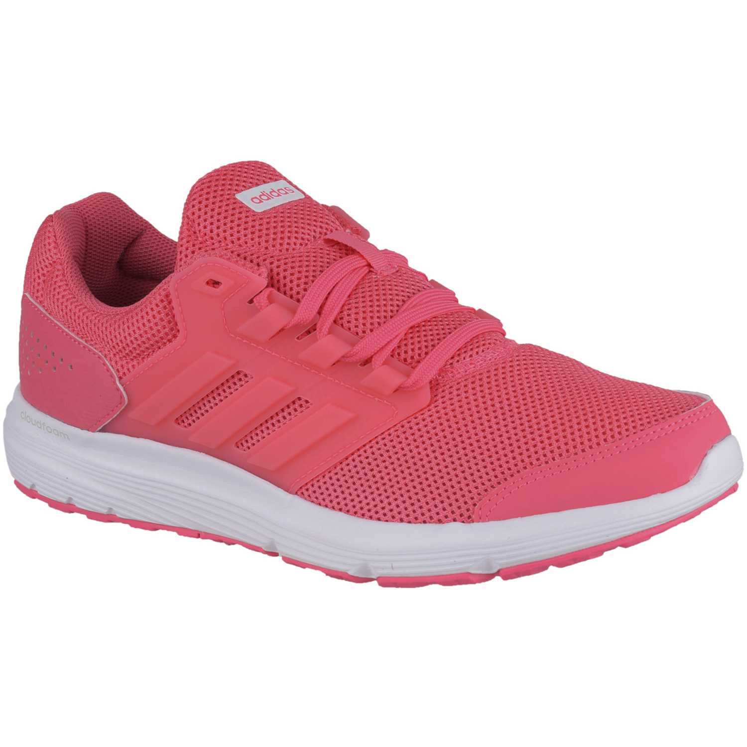 Adidas galaxy 4 Rosado / blanco Trail Running | platanitos.com