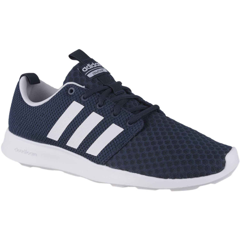 Zapatilla de Hombre adidas NEO Azul / blanco cf swift racer