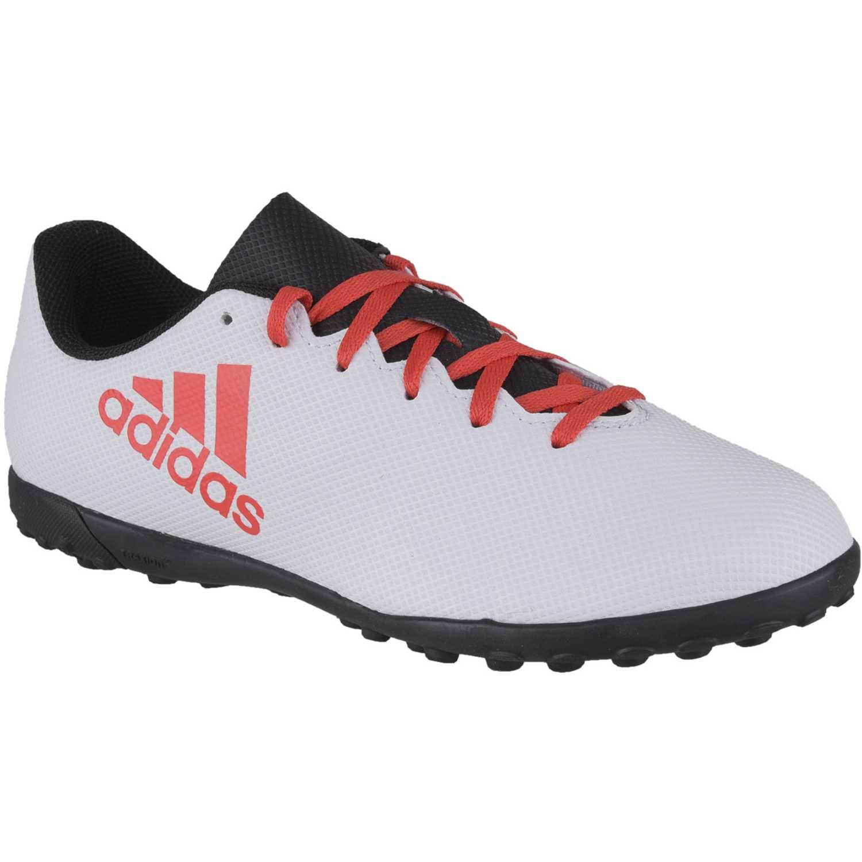 Adidas x tango 17.4 tf j Blanco / rojo Muchachos