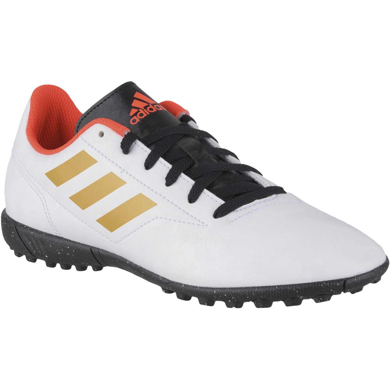 Adidas conquisto ii tf j Blanco / dorado Muchachos