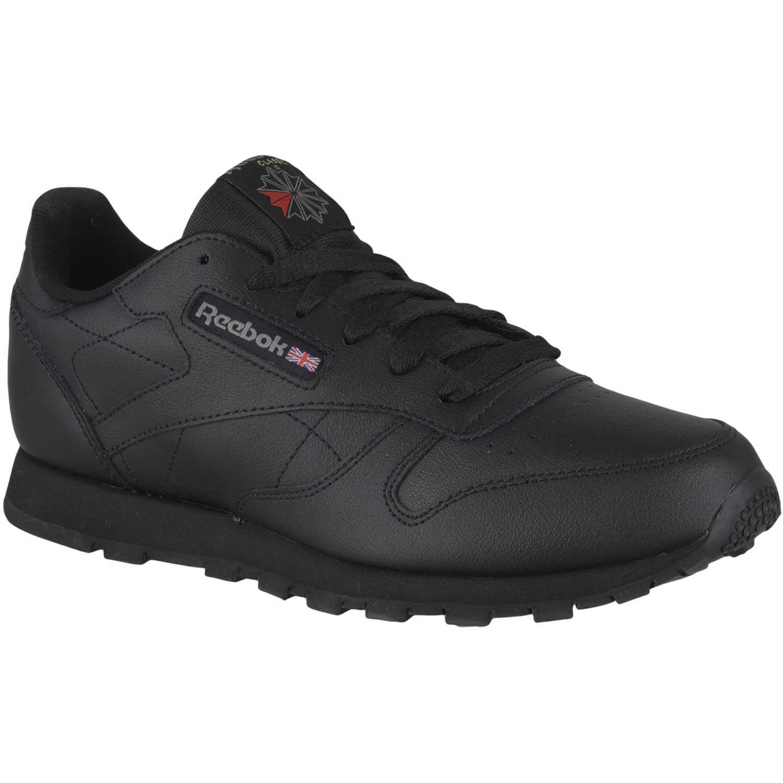 Reebok Classic Leather Negro Walking