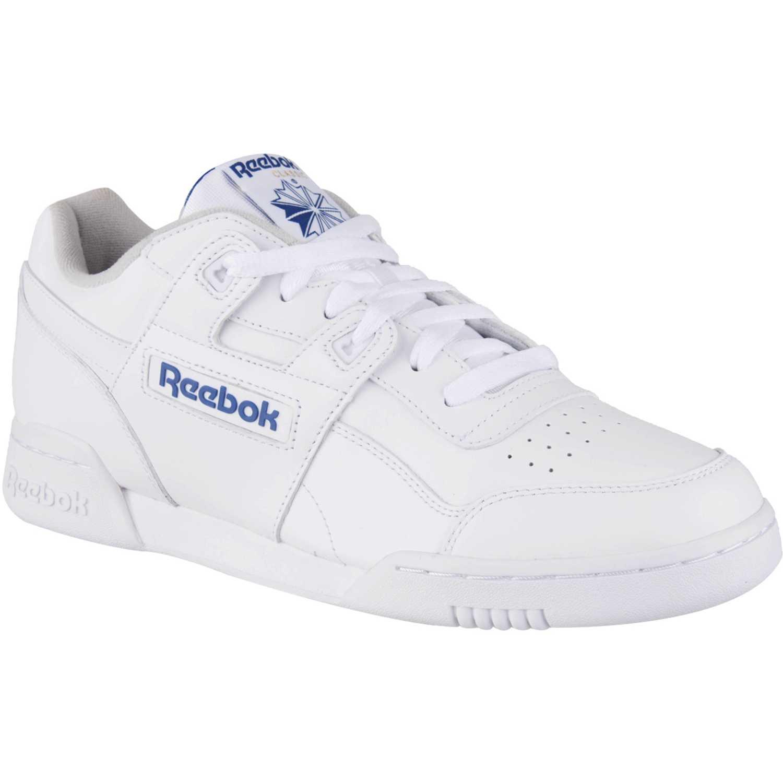 Reebok workout plus Blanco azul Hombres |