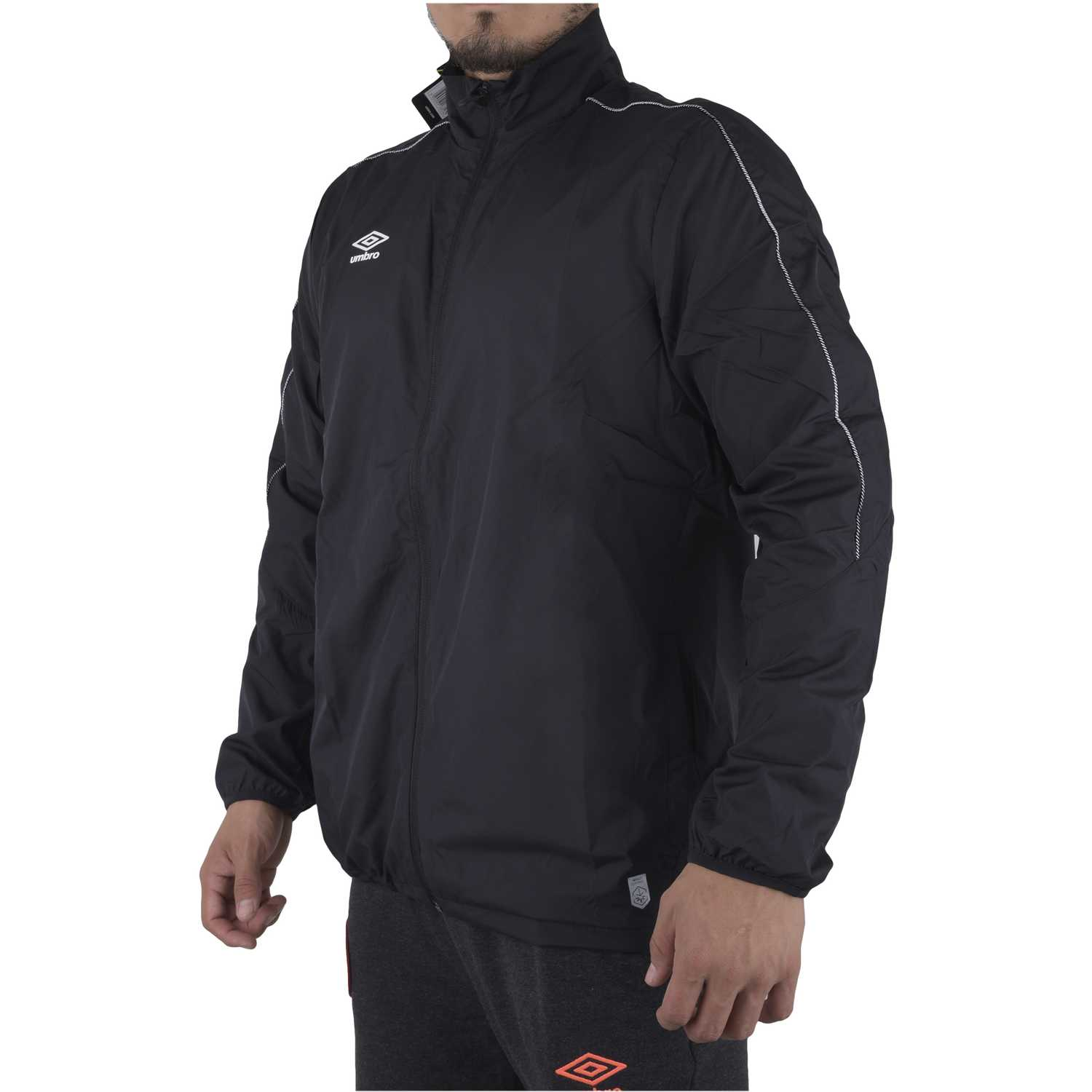 Deportivo de Niña Umbro Negro pro training shower jacket