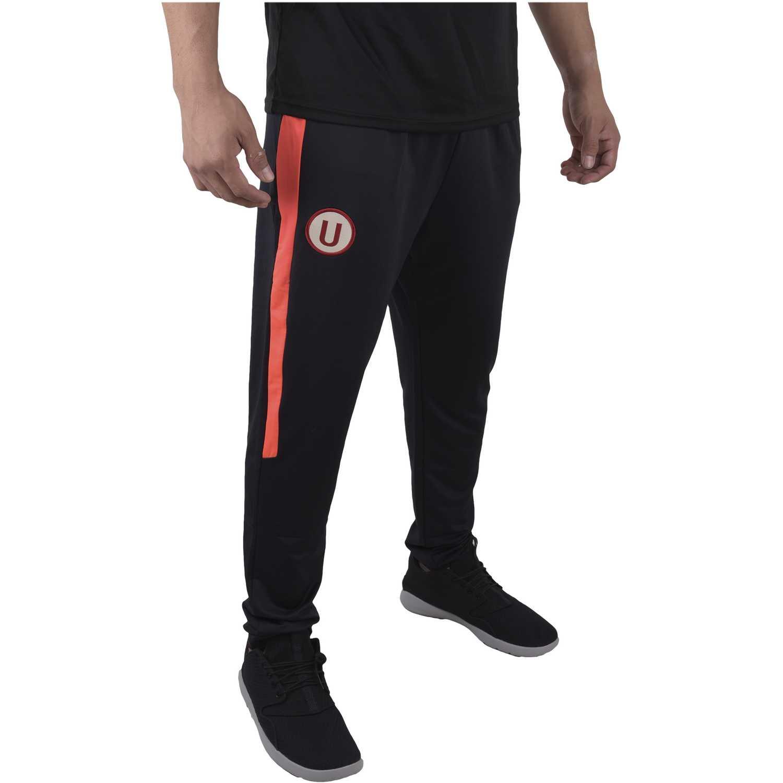 Umbro univ training knit pant (universitario) Negro / rojo Pantalones Deportivos