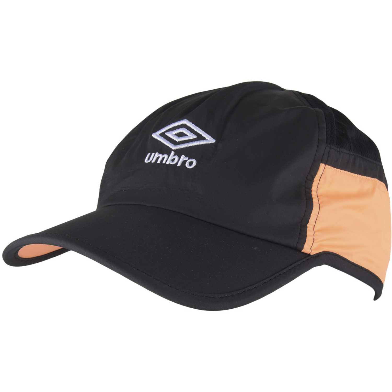 Umbro training cap Negro / naranja Gorros de Baseball