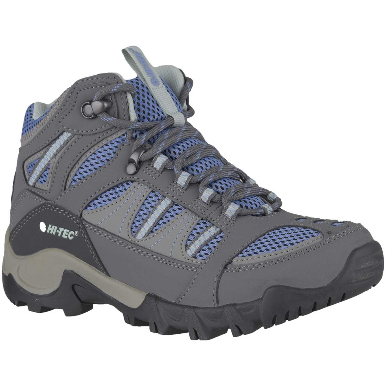 Hi-Tec Bryce Ii Womens Gris / azul Trail Running