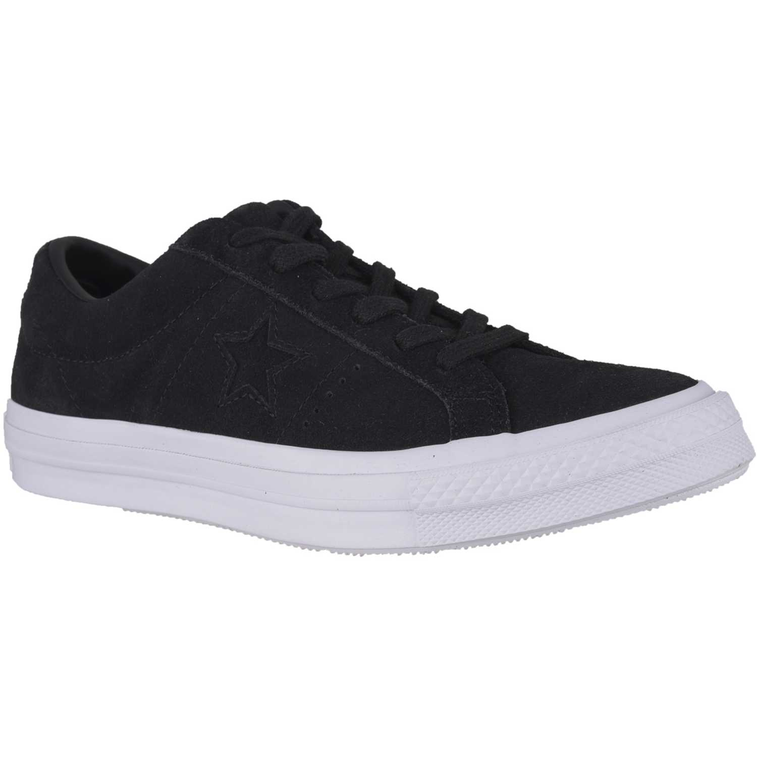 Converse one star suede Negro / blanco Walking
