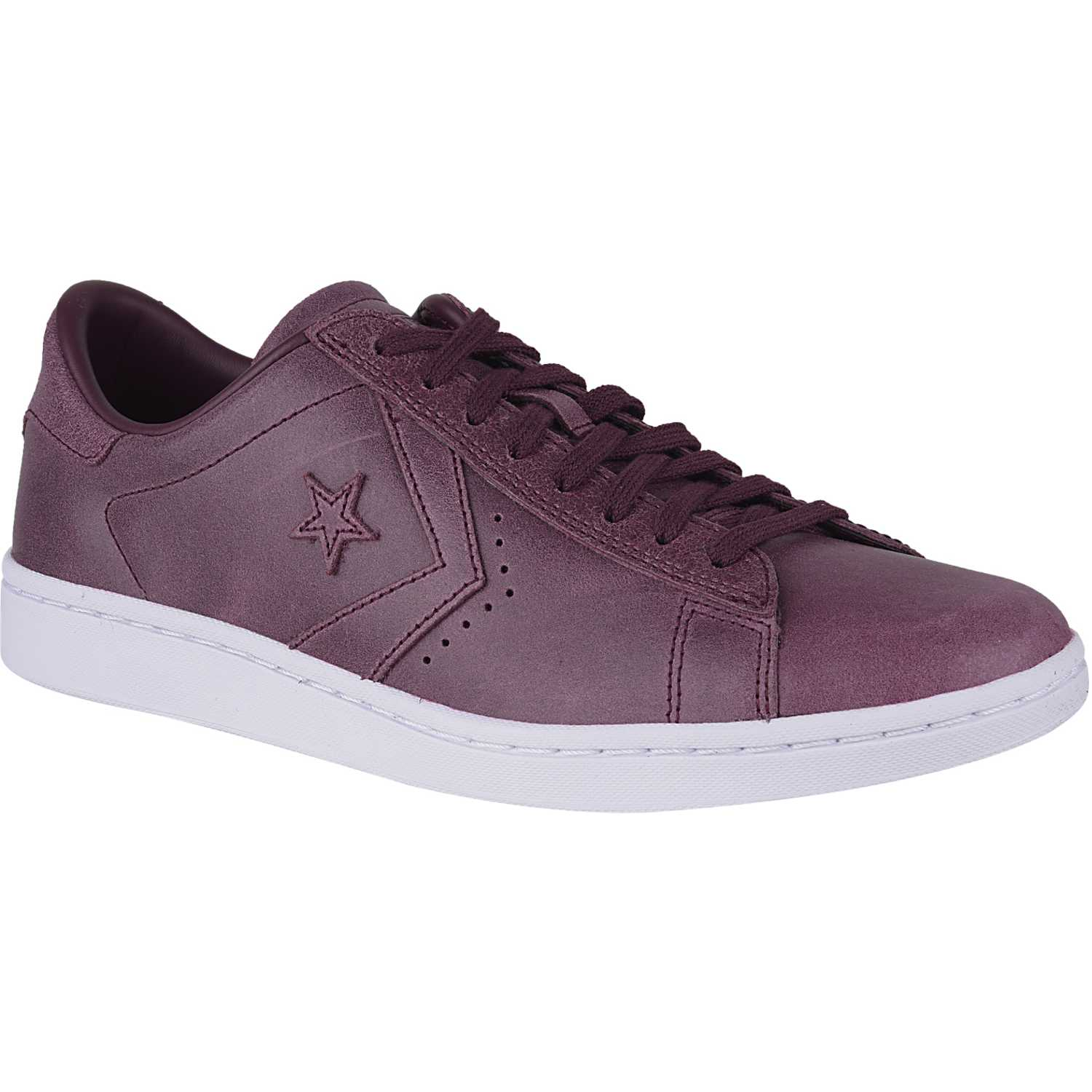 Converse pl lp powder suede Vino / blanco Walking