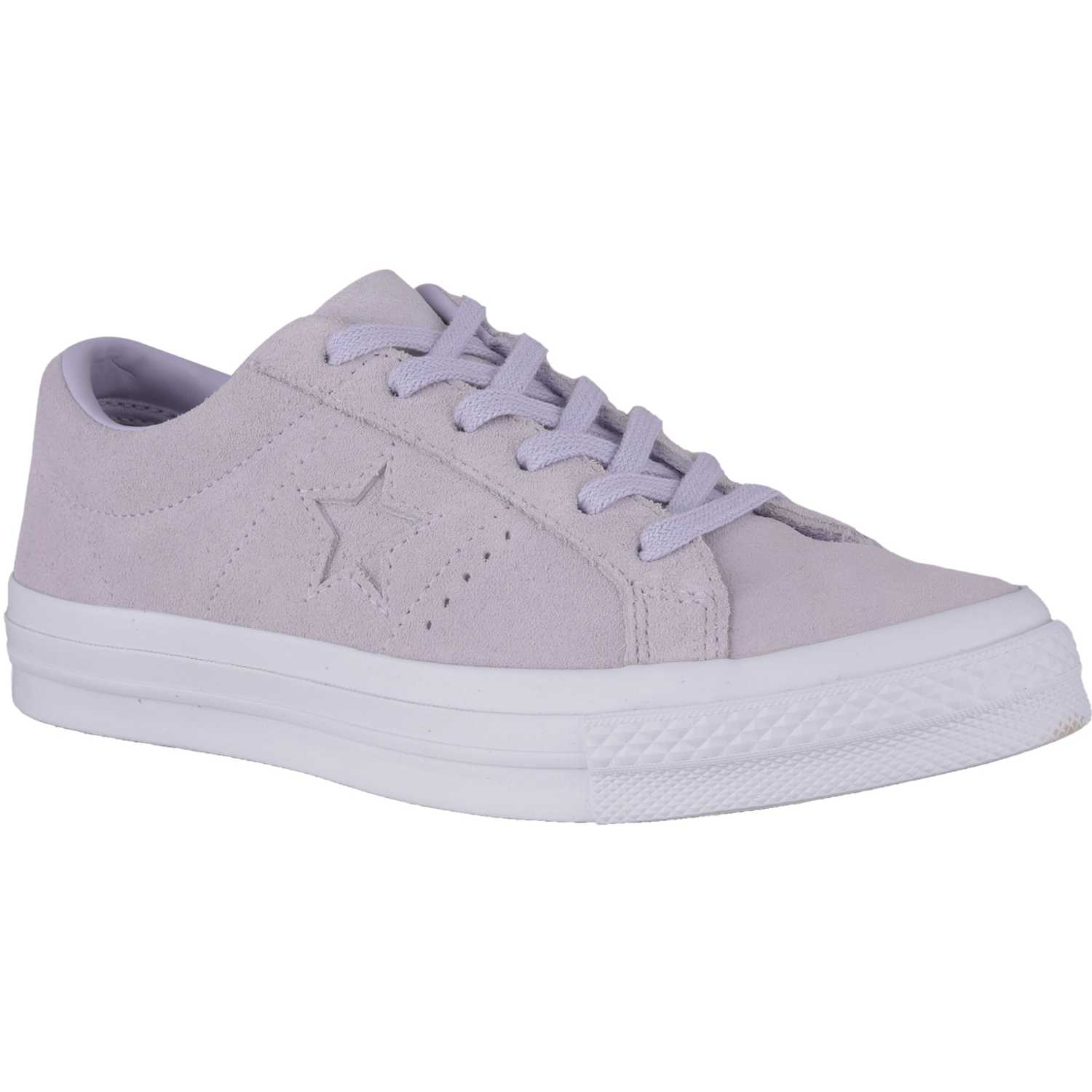 Converse one star suede Lila / blanco Walking