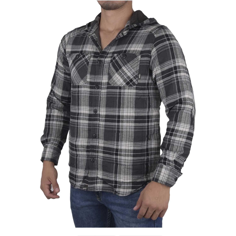 Camisa de Hombre Vans Gris / negro loose screw iv