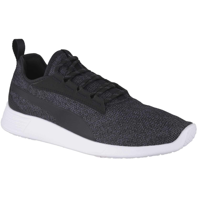 Puma st trainer evo v2 knit Negro / blanco Walking