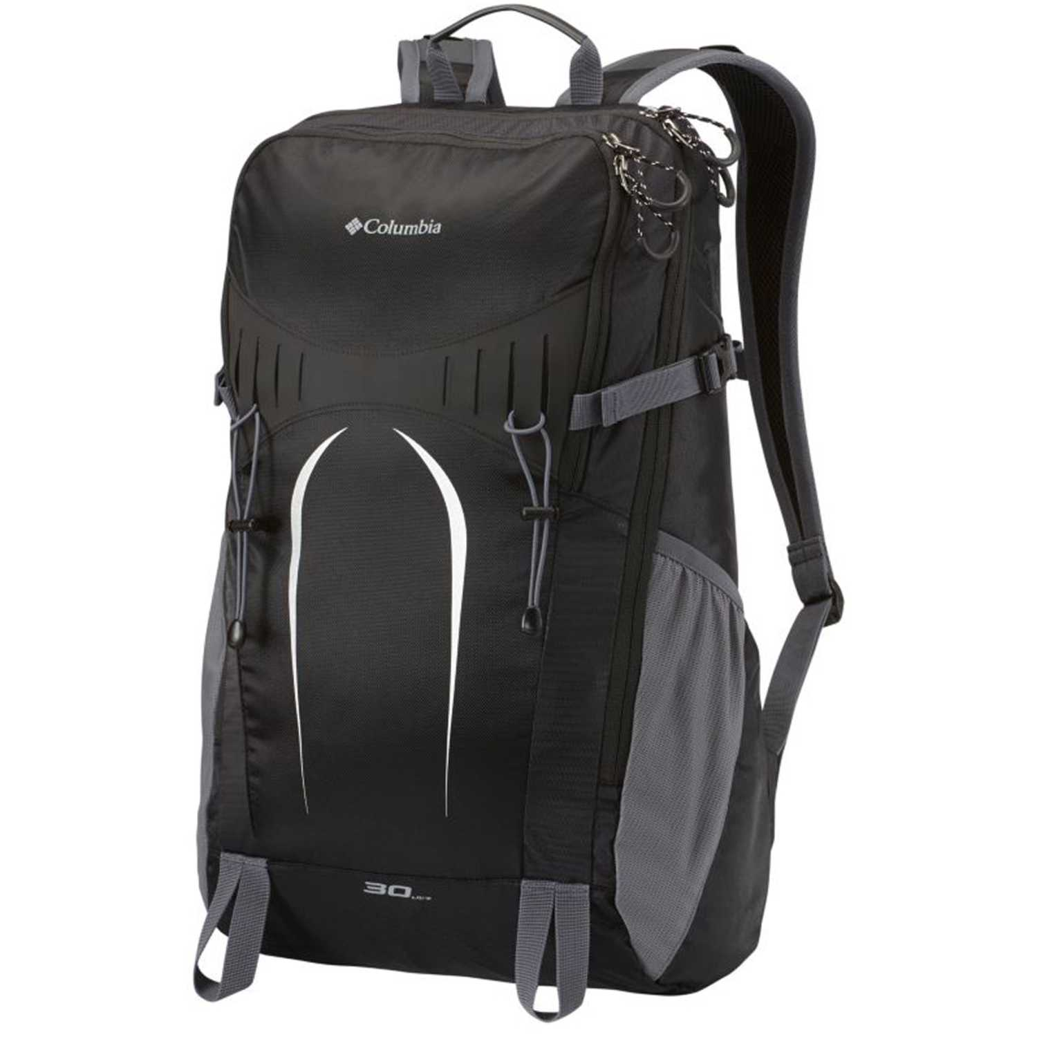Columbia advent 30l backpack Negro /gris senderismo Daypacks