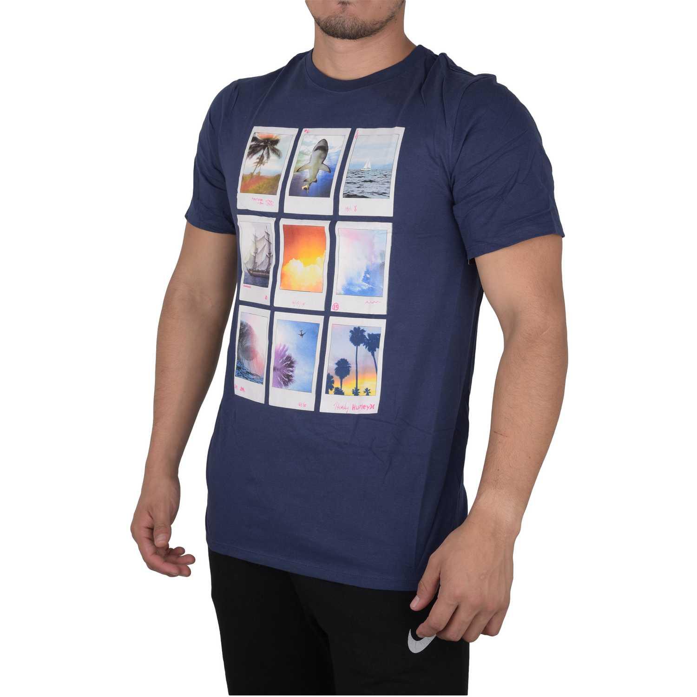 Casual de Hombre Hurley Azul polaroids premium