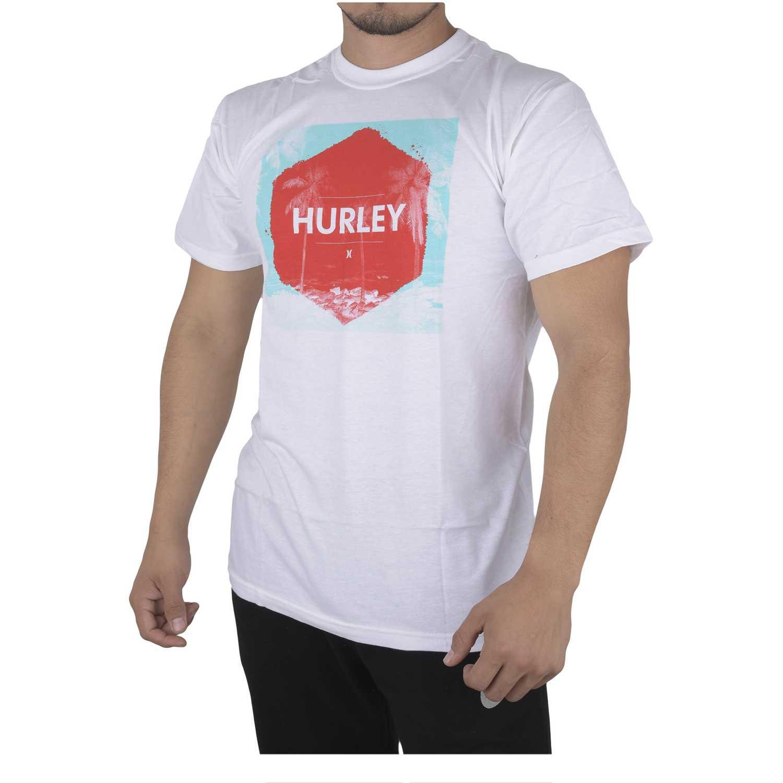 Hurley sunscape shirt Blanco Polos