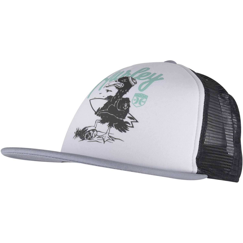 Gorros de Niña Hurley Blanco / negro all day hats trucker
