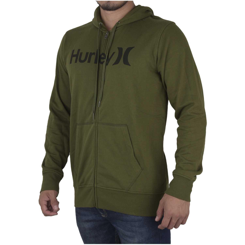 Casaca de Hombre Hurley Verde one and only fleece zip up