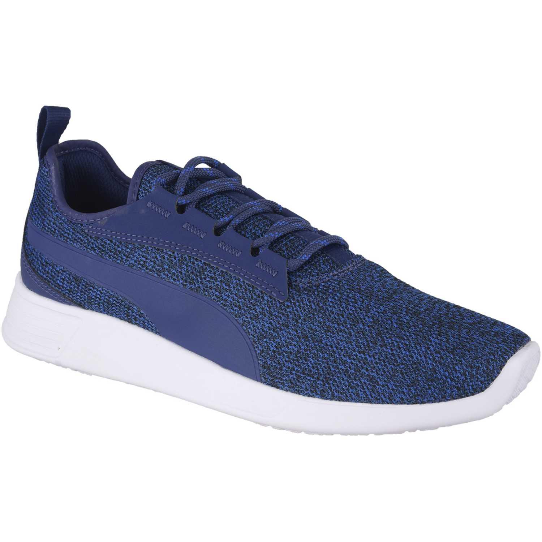 Casual de Hombre Puma Azul / blanco st trainer evo v2 knit