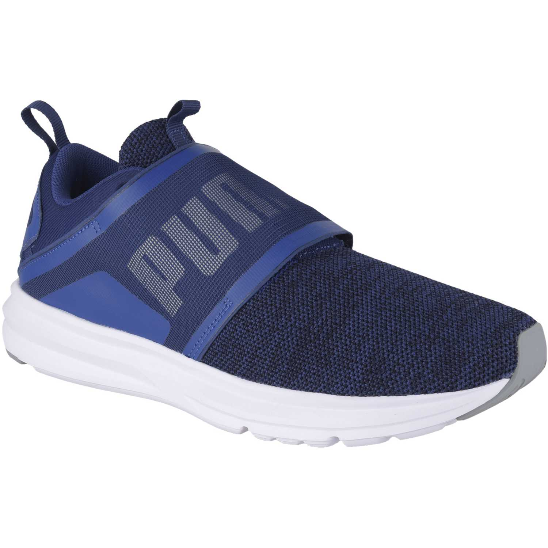 Puma enzo strap knit Azul / blanco Trail Running