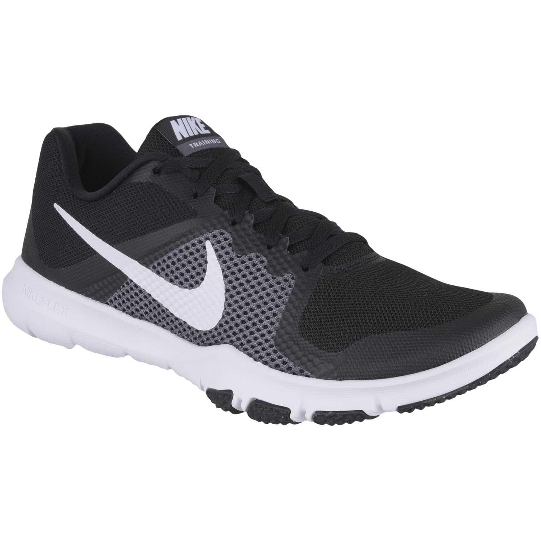 Nike flex control Negro / blanco Hombres