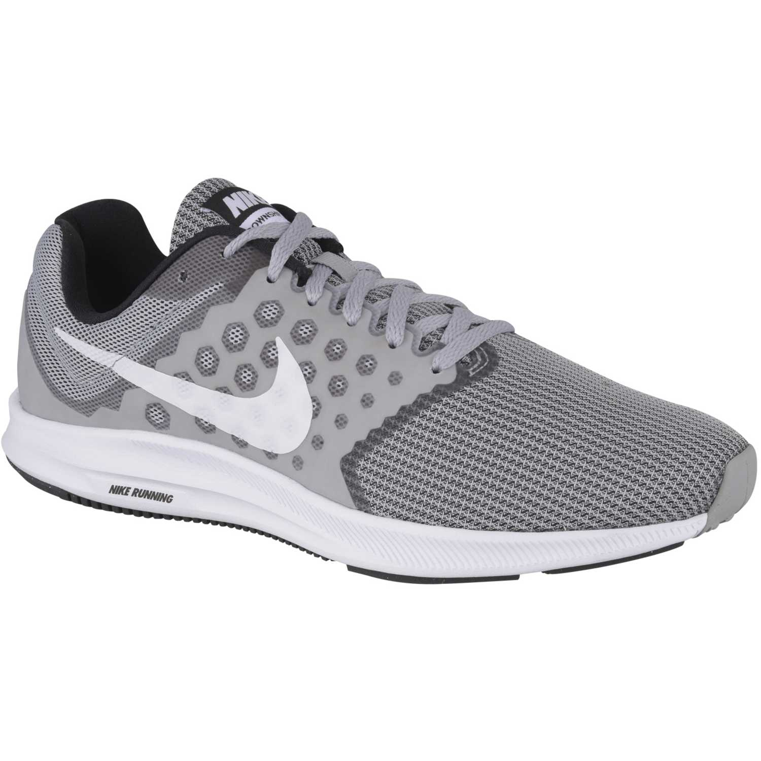 Tenis Nike Hombre Nike Downshifter 7 Azul y Blanco – Geared Media